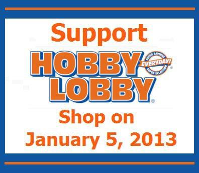 Support Religious Freedom; Support Hobby Lobby