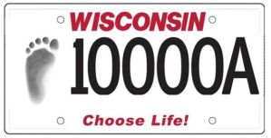 choose life plates LG