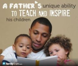 Fathers inspire